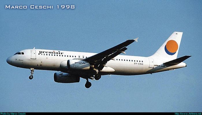 OY-CNH  A320-231  179  Premiair  @ Aeroporto di Verona © Piti Spotter Club Verona
