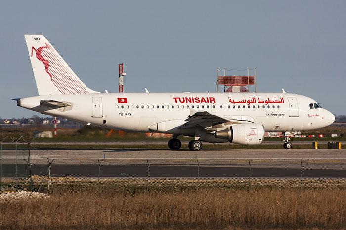 TS-IMQ A319-112 3096 Tunisair @ Venezia Airport 22.03.2013 © Piti Spotter Club Verona