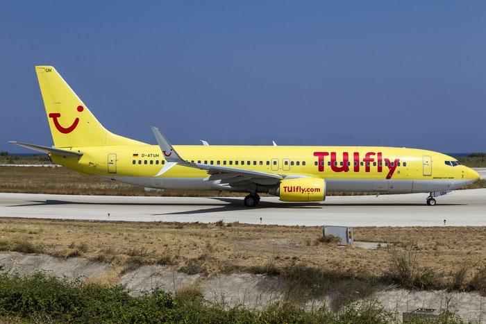 D-ATUH B737-8K5 34689/1935 TUIfly @ Rhodes Airport 11.07.2015 © Piti Spotter Club Verona