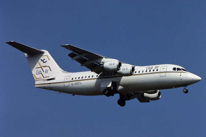 G-DEFL BAe146-200A E2014 Club Air @ Aeroporto di Verona © Piti Spotter Club Verona