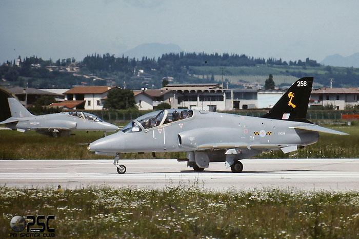 XX256  CU-846  Hawk T1A  312092/092  736NAS @ Aeroporto di Verona   © Piti Spotter Club Verona