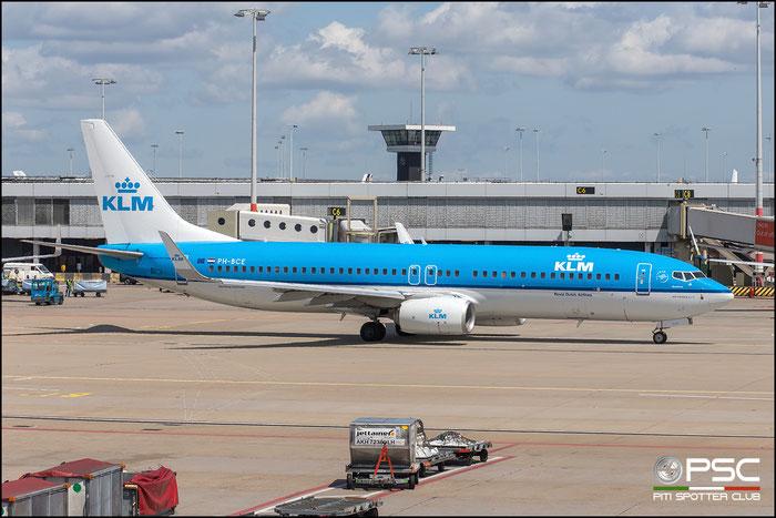 PH-BCE  B737-8K2  42151/4852  KLM Royal Dutch Airlines  @ Amsterdam 2019 © Piti Spotter Club Verona