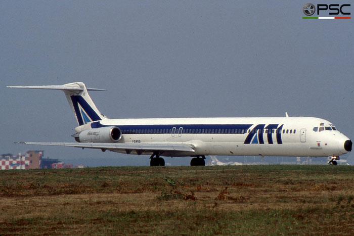 I-DAVD MD-82 49218/1274 ATI - Aero Transporti Italiani © 2018 courtesy of Marco Ceschi - Piti Spotter Club Verona
