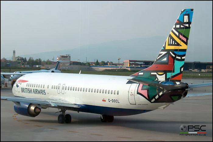 G-DOCL B737-436 25842/2228 British Airways @ Aeroporto di Verona © Piti Spotter Club Verona