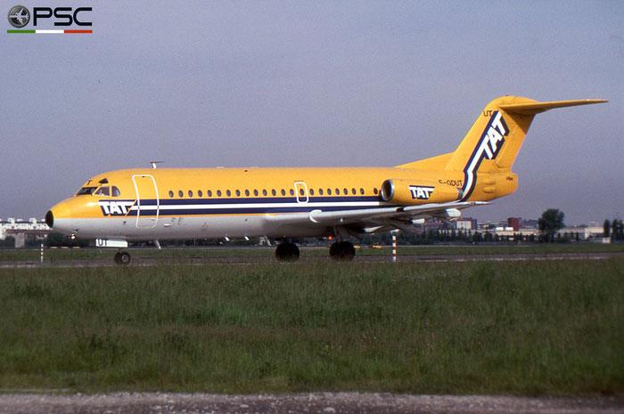 F-GDUT F28-2000 11091 Air France opb TAT - Transport Aérien Transrégional © 2018 courtesy of Marco Ceschi - Piti Spotter Club Verona