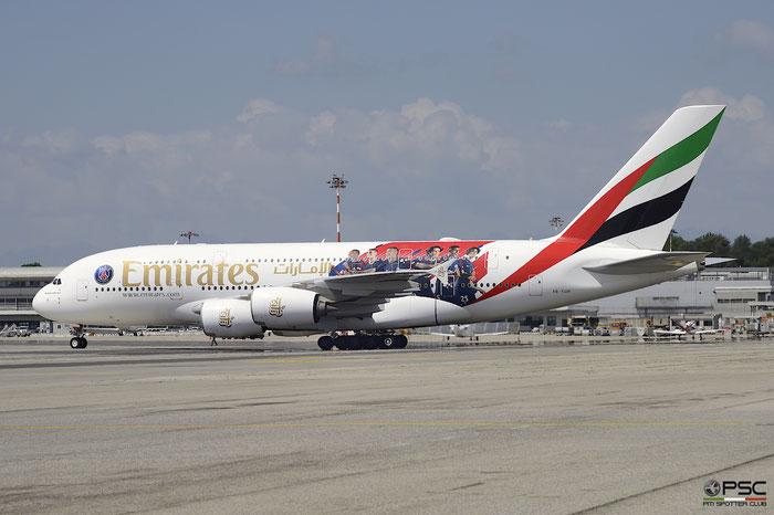 A6-EUB A380-861 213 Emirates @ Milano Malpensa Airport 05.05.2018 © Piti Spotter Club Verona
