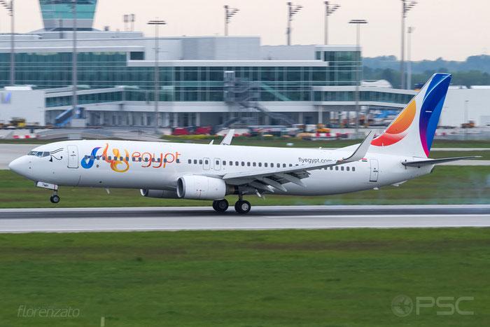 SU-TMH B737-8GJ 34903/2335 FlyEgypt @ Munich Airport 15.05.2016 © Piti Spotter Club Verona