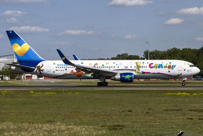 D-ABUE B767-330ER 26984/518 Condor Flugdienst @ Frankfurt Airport 08.05.2015 © Piti Spotter Club Verona