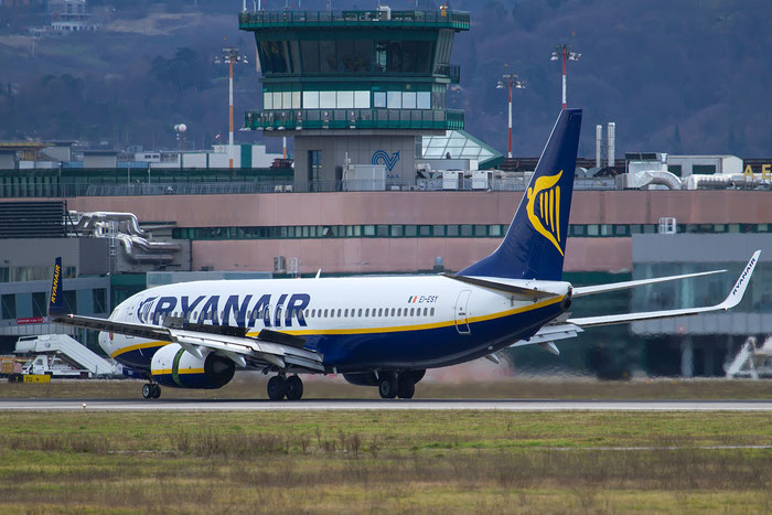 EI-ESY B737-8AS 34999/3829 Ryanair @ Bologna Airport 12.02.2016 © Piti Spotter Club Verona