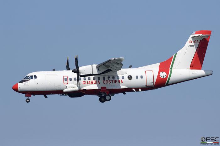 MM62270  10-03  ATR42-500MP  803  3° Nucleo Aereo © Piti Spotter Club Verona