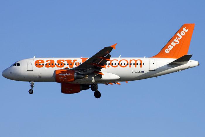 G-EZGL A319-111 4744 EasyJet Airline @ Venezia Airport 24.09.2014  © Piti Spotter Club Verona