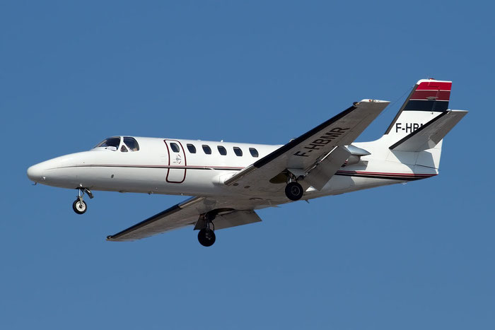 F-HBMR Ce550 550-0717/717 La Baule Aviation SAS @ Bologna Airport 23.02.2012 © Piti Spotter Club Verona