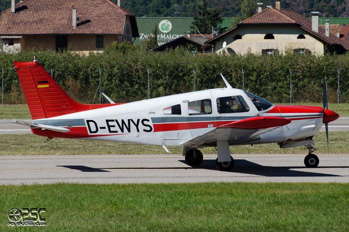 D-EWYS - Private - Piper PA-28 Arrow @ Aeroporto di Bolzano © Piti Spotter Club Verona