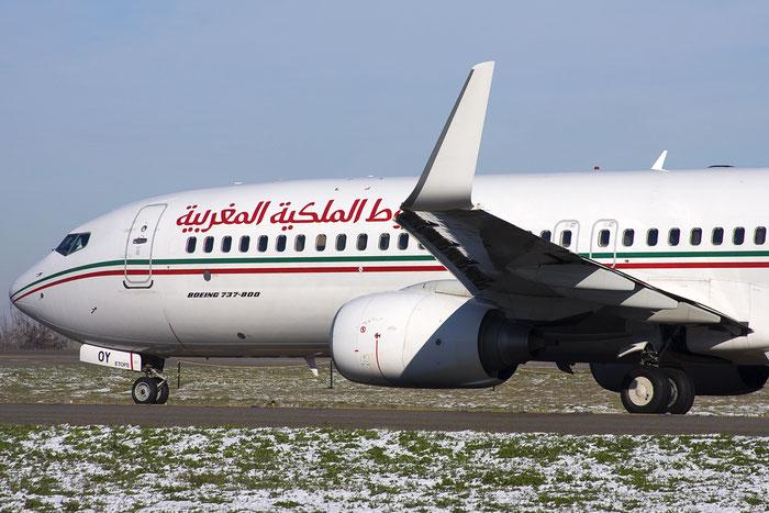 CN-ROY B737-8B6 33070/3233 Royal Air Maroc @ Bologna Airport 10.12.2012 © Piti Spotter Club Verona