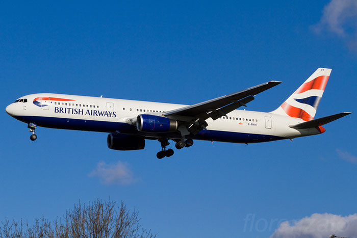 G-BNWT B767-336ER 25828/476 British Airways @ London Heathrow Airport 08.02.2013  © Piti Spotter Club Verona