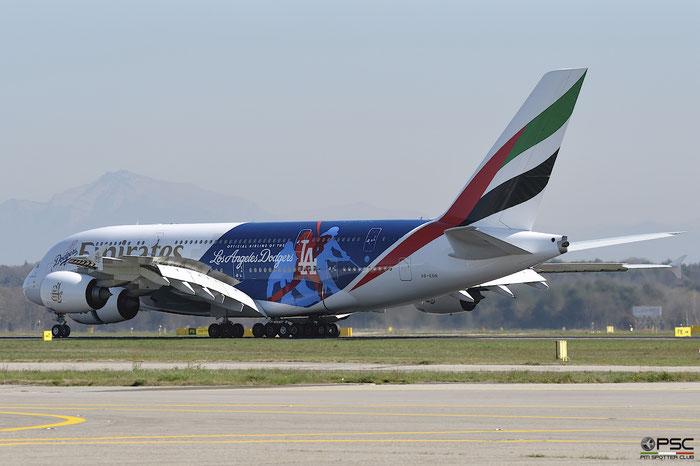 A6-EON A380-861 188 Emirates @ Milano Malpensa Airport 04.04.2017 © Piti Spotter Club Verona