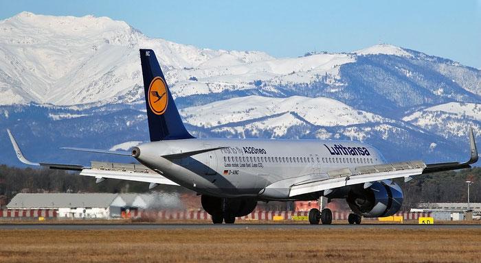 D-AINC A320-271N 6920 Lufthansa @ Milano Malpensa Airport 29.12.2017 © Piti Spotter Club Verona