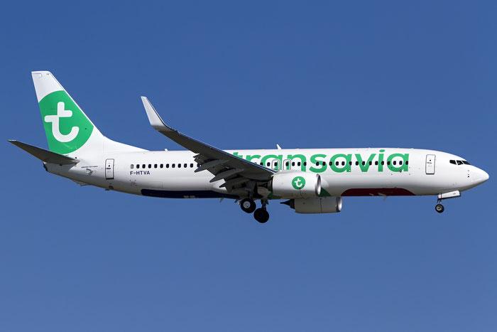 F-HTVA B737-8K2 62158/5733 Transavia France @ Venice Airport 18.06.2016 © Piti Spotter Club Verona