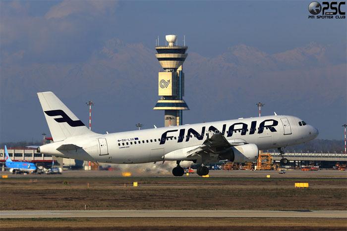 OH-LXK A320-214 2065 Finnair @ Milano Malpensa Airport 24.02.2014 © Piti Spotter Club Verona