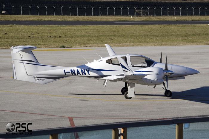 I-NANY - Diamond DA42 - Private @ Aeroporto di Trento © Piti Spotter Club Verona