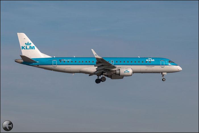 PH-EZT ERJ190STD 19000519 KLM Cityhopper @ Bologna Airport - 02.01.2015  © Piti Spotter Club Verona