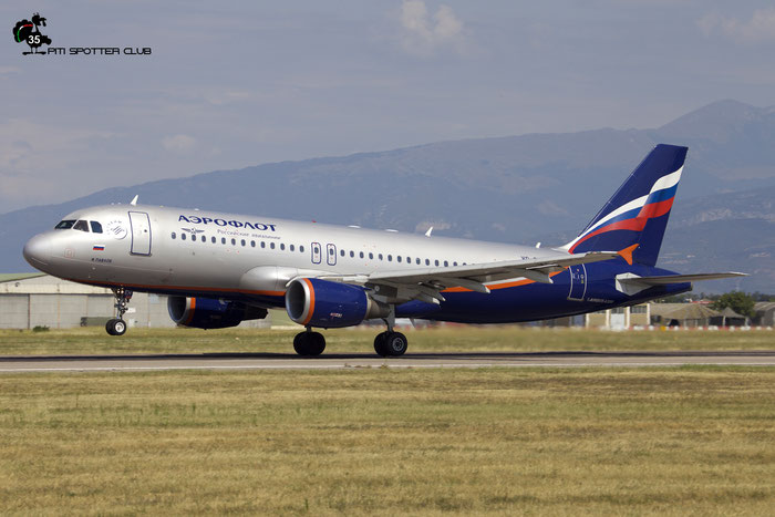 VQ-BEH A320-214 4133 Aeroflot @ Aeroporto di Verona 18.08.2018  © Piti Spotter Club Verona