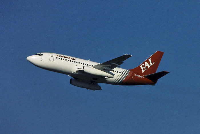 G-CEAD B737-229 21137/421 European AirCharter @ Aeroporto di Verona © Piti Spotter Club Verona