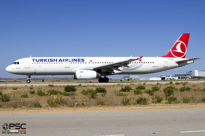 TC-JRV  A321-231  5077  Turkish Airlines - THY Türk Hava Yollari  @ Athens 2019 © Piti Spotter Club Verona
