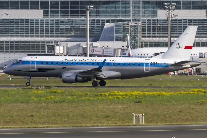 SP-LIE ERJ175LR 17000153 LOT Polish Airlines - Polskie Linie Lotnicze @ Frankfurt Airport 08.05.2015 © Piti Spotter Club Verona