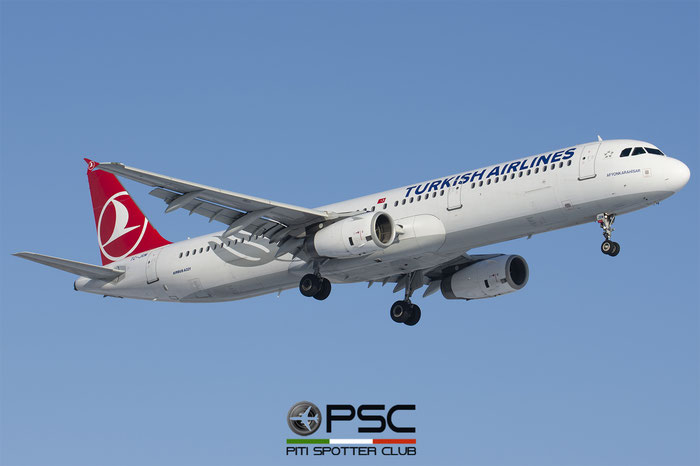 TC-JRM  A321-231  4643  Turkish Airlines - THY Türk Hava Yollari @ Bologna 2018 © Piti Spotter Club Verona