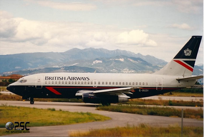 G-BGDI  B737-236  21798/658  British Airways  @ Aeroporto di Verona © Piti Spotter Club Verona