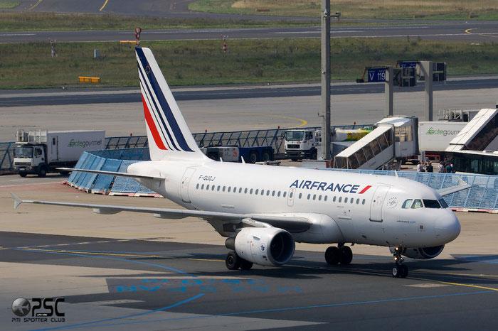 F-GUGJ A318-111 2582 Air France @ Frankfurt Airport 25.07.2014 © Piti Spotter Club Verona