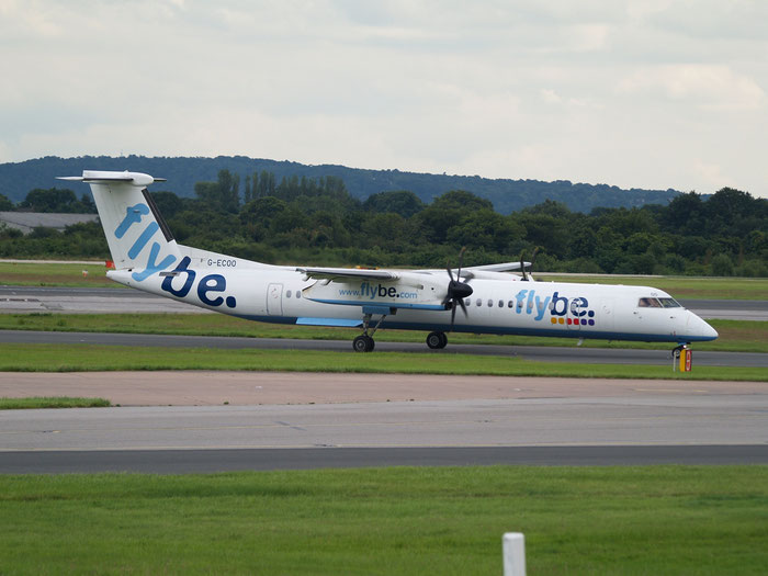 G-ECOO DHC-8-402 4237 Flybe - British European  @ Manchester Airport 20.07.2012 © Piti Spotter Club Verona