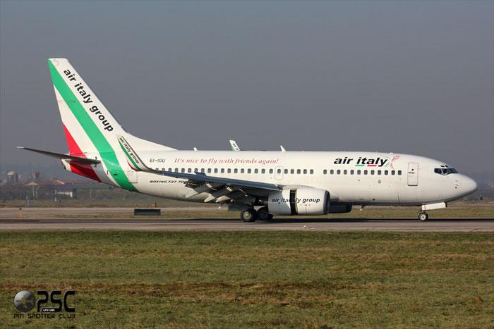 EI-IGU  B737-73V  32422/1363  Air Italy (2005)  @ Aeroporto di Verona © Piti Spotter Club Verona