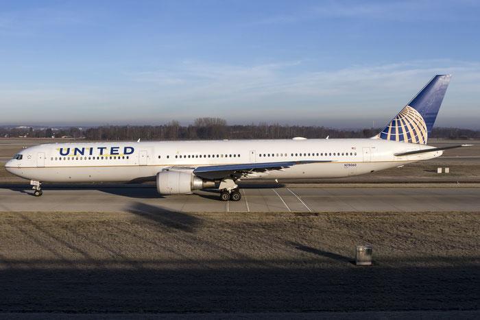 N78060 B767-424ER 29455/866 United Airlines @ Münich Airport 28.12.2015 © Piti Spotter Club Verona