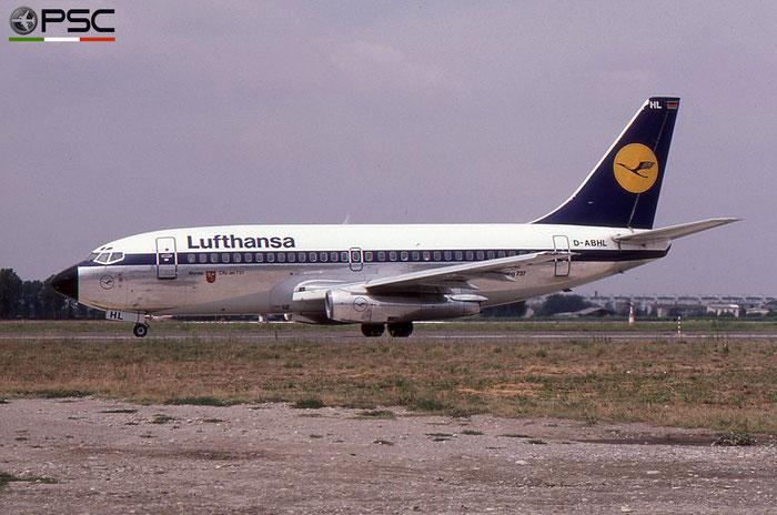 D-ABHL B737-230 22137/788 Lufthansa © 2018 courtesy of Marco Ceschi - Piti Spotter Club Verona