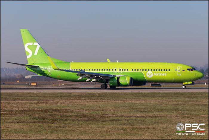 VP-BQD B737-83N 28239/847 S7 Airlines @ Aeroporto di Verona 12.2018  © Piti Spotter Club Verona