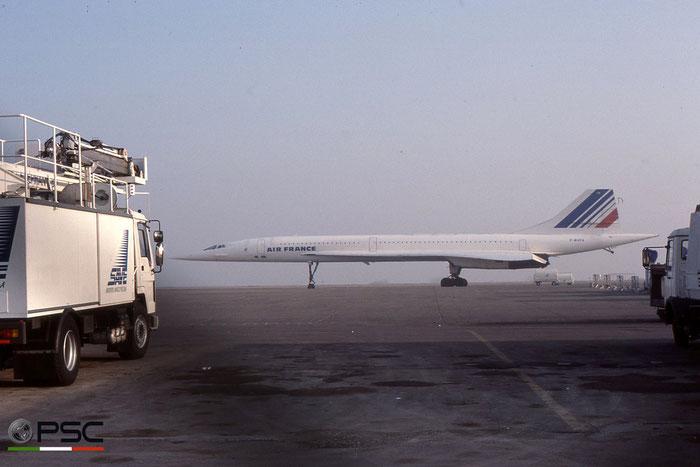 F-BVFA Concorde 101 205 Air France © 2018 courtesy of Marco Ceschi - Piti Spotter Club Verona