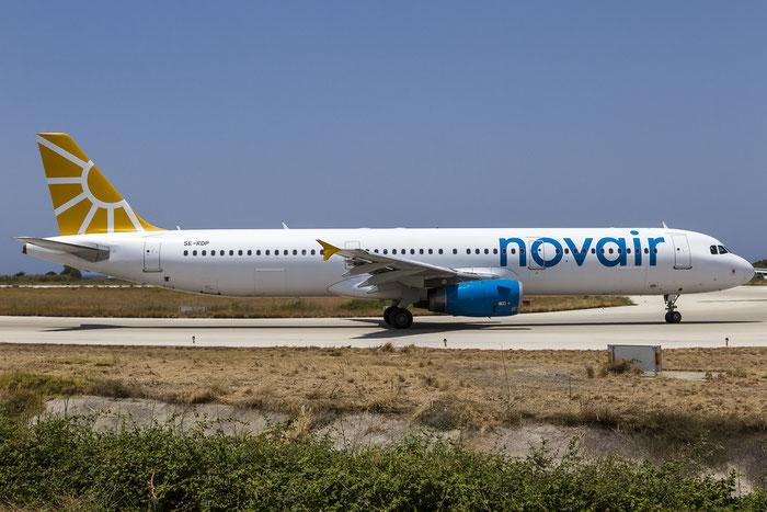 SE-RDP A321-231 2410 Novair @ Rhodes Airport 08.07.2015 © Piti Spotter Club Verona