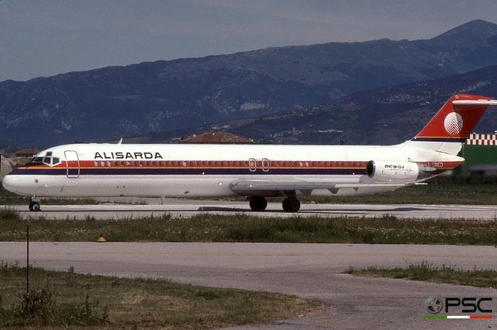 I-SMEO  DC-9-51  47655/763  Alisarda - Linee Aeree della Sardegna  @ Aeroporto di Verona © Piti Spotter Club Verona