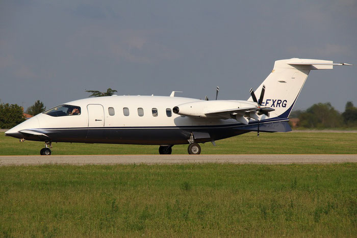 I-FXRG P180 1112 K-Air @ Bologna Airport 24.08.2014 © Piti Spotter Club Verona