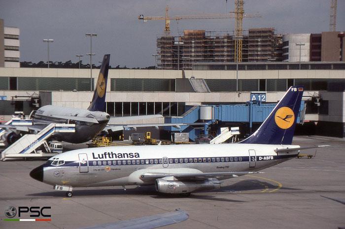 D-ABFB B737-230 22113/649 Lufthansa © 2018 courtesy of Marco Ceschi - Piti Spotter Club Verona