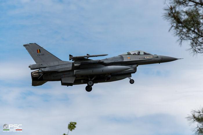 FA136   F-16AM  6H-136  10w © Piti Spotter Club Verona