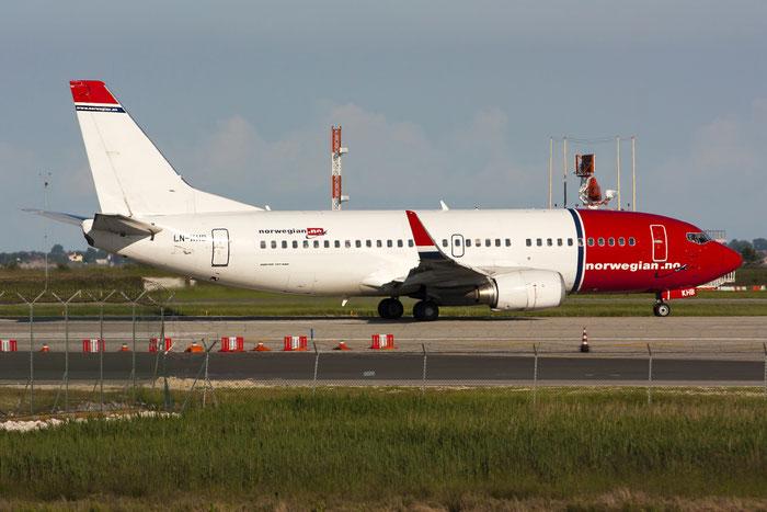 LN-KHB B737-31S 29264/3070 Norwegian @ Venezia Airport 21.05.2013 © Piti Spotter Club Verona