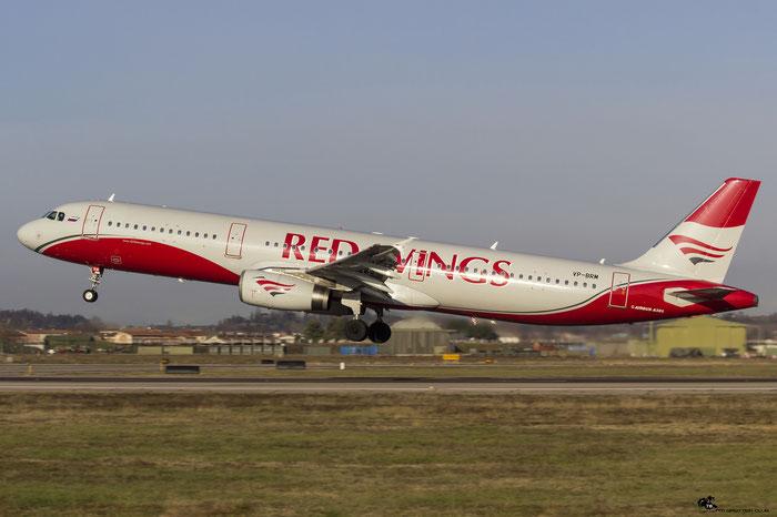 VP-BRM A321-232 802 Red Wings @ Aeroporto di Verona 20.01.2018  © Piti Spotter Club Verona