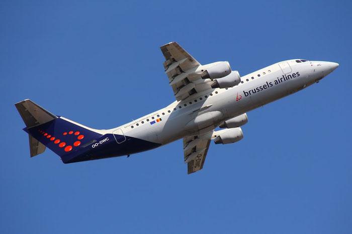 OO-DWC BAe146-RJ100 E3322 Brussels Airlines @ Bologna 10.03.2013 © Piti Spotter Club Verona