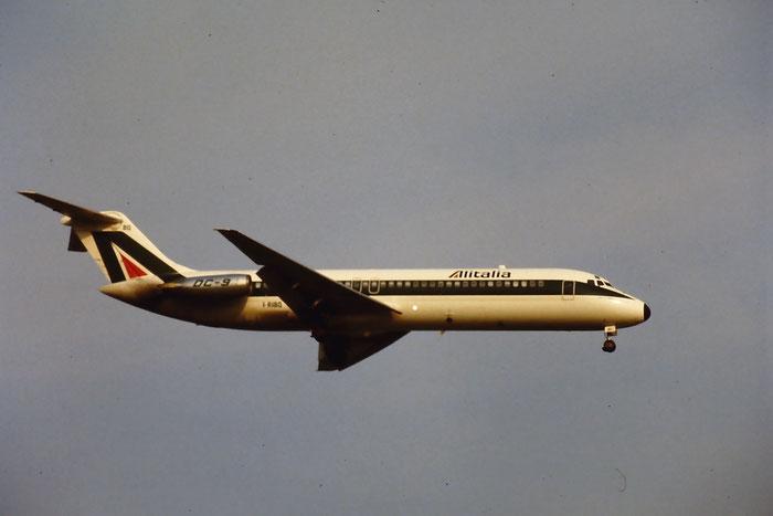 I-RIBQ  DC-9-32  47236/450  Alitalia  @ Aeroporto di Verona © Piti Spotter Club Verona