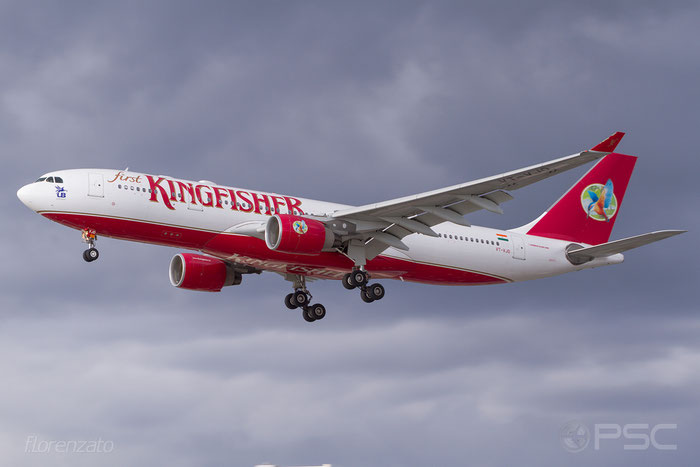 VT-VJO A330-223 939 Kingfisher Airlines @ London Heathrow Airport 2010 © Piti Spotter Club Verona