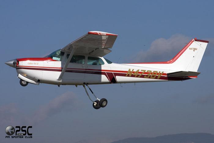N4738V Cessna 172RG C72R 172RG0372 @ Aeroporto Verona Boscomantico © Piti Spotter Club Verona