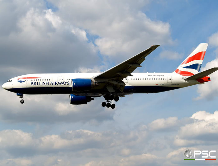 G-YMMF B777-236ER 30307/281 British Airways @ London Heathrow Airport 15.04.2008 © Piti Spotter Club Verona